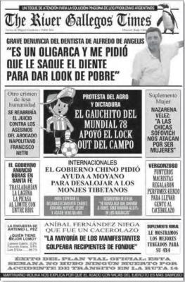 Extraido del diario Critica de la Argentina del domingo pasado