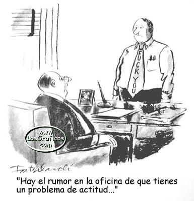 Actitud....