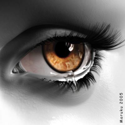 La mirada de una mujer